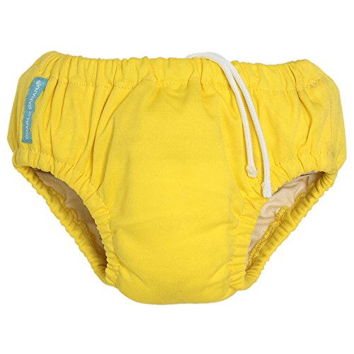 Charlie Banana Swim Diaper (Small 11-18 lbs, Yellow) - 1