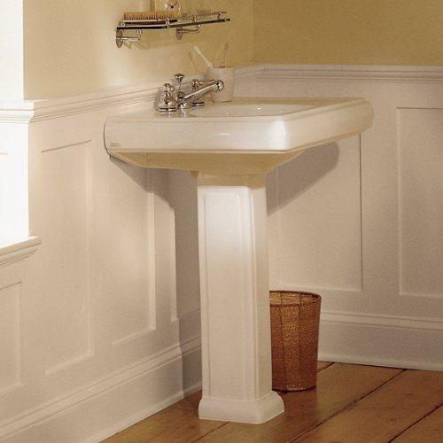 American Standard 734700-400.020 Heritage Pedestal Sink Leg, White ...