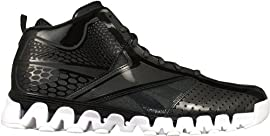 Reebok J81312 Wall Seaon 2: ZigEncore Men's Basketball Shoes (Black/White)