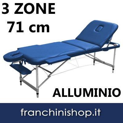 Panca massaggi 3 zone lettino estetista portatile colore for Lettino estetista portatile