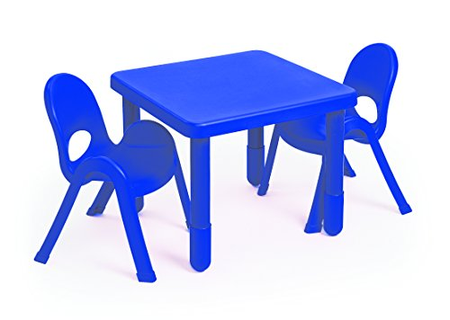 "Angeles Value Stack Chairs (2-Pack), Royal Blue, 11"" - 1"