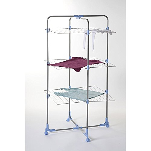 moerman 88347 tower airer indoor outdoor folding clothes drying rack 95 feet new ebay. Black Bedroom Furniture Sets. Home Design Ideas