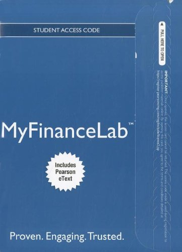 NEW MyFinanceLab with Pearson eText -- Access Card -- for...