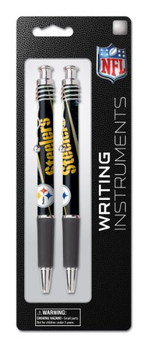 Pittsburgh Steelers 2 Pack Jazz Pen on Blistercard, Team Colors (12009-QUW) at Amazon.com