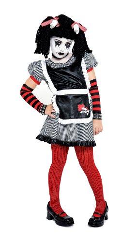 [Gothic Ragdoll Costume, Small (4/6)] (Goth Ann Teen Costumes)