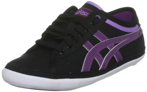 ASICS Women's Biku Cv Womens Black/Purple Trainer