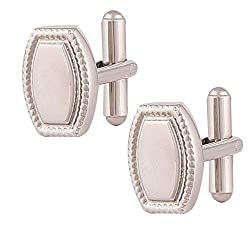 Park Avenue Light NA Cufflinks ( 8907252328512_PZMP01713-X1_STD_Light NA)