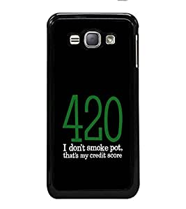 printtech Cool Quotes Back Case Cover for Samsung Galaxy J1 (2016) :: Samsung Galaxy J1 (2016) Duos with dual-SIM card slots :: Galaxy Express 3 J120A (AT&T); J120H, J120M, J120M, J120T