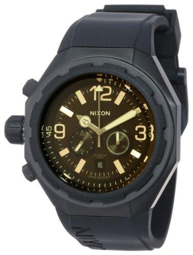 Nixon Steelcat Watch Matte Black/Orange Tint, One Size