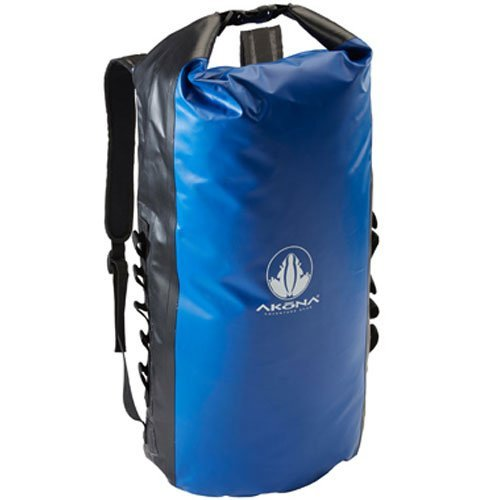 akona-dry-duffel-roll-top-waterproof-scuba-diving-backpack-akb725-blue