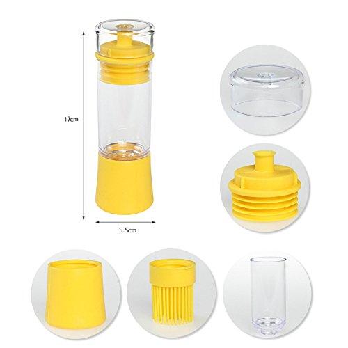 Codream 3 In 1 Bottle Baster Brush For Bbq Pour Brush