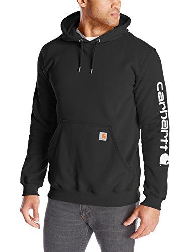 carhartt-sweatshirt-sleeve-logo-hooded-farbeblackgrossel