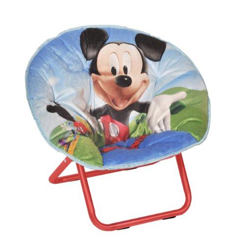 Disney Mickey Mouse Toddler Saucer Chair Home Garden Decor