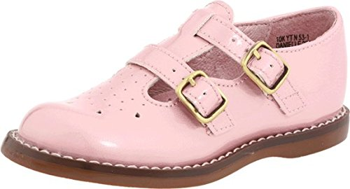 Footmates Danielle 2 Mary Jane (Toddler/Little Kid) Pink Size 7M front-767333