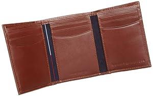 052bcac1b Billetera Tommy Hilfiger Men's Leather Cambridge para hombre, de cuero y  tres foldes