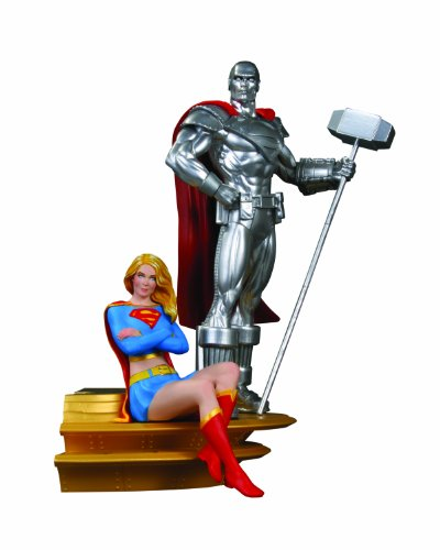 DC Direct Superman Family Multi-Part Statue: Part 2: Supergirl and Steel