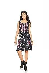 Isadora Women's Dress (WCD525019_Multicolour_X-Large)