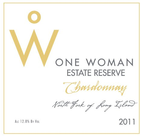 2011 One Woman Estate Reserve North Fork Of Long Island Chardonnay 750 Ml