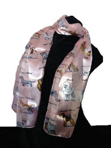 bufanda-rosa-perro-brillante-con-un-diseno-cuadrado-y-diferentes-razas-de-perros-pink-dog-scarf-with