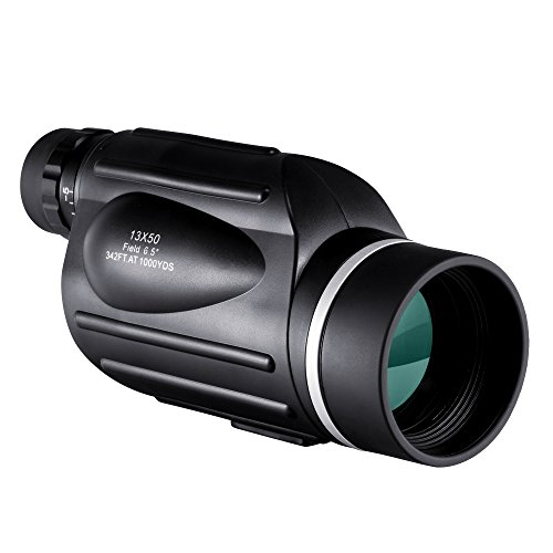 BNISE-Explorer-13X50-High-Powered-Monocular-GOMU-Bright-and-Clear-Range-of-View-Simple-Hand-Focus-Waterproof-Fogproof-For-Bird-Watching-or-Wildlife-with-Reticle-Daytime-Use