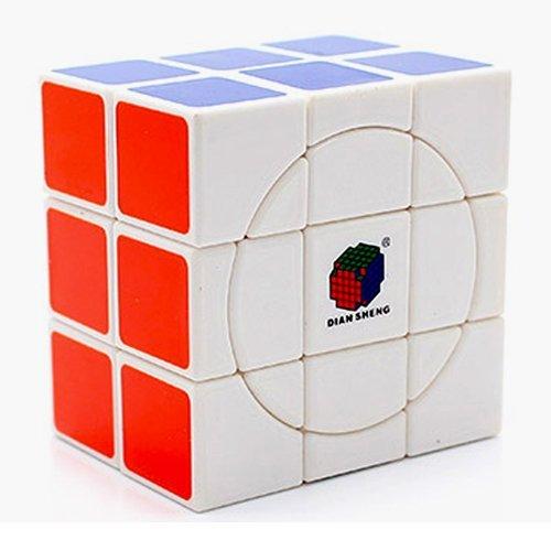 2x3x3 Crazy Diansheng Cuboid White Cube Twisty Puzzle - 1