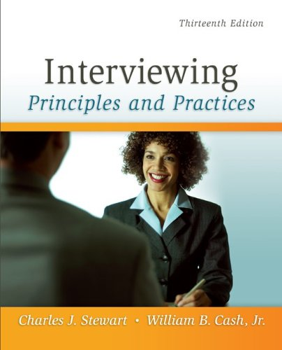 Interviewing: Principles and Practices