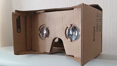 段ボール製VR(Virtual Reality)ビューアキット NFC付:DIY Cardboard VR Viewer