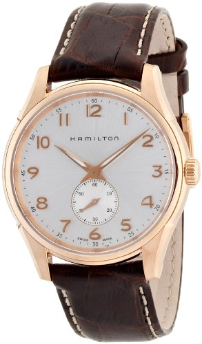 Hamilton Men's H32351735 Jazzmaster Black Dial Watch