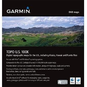 Garmin USA 010-11001-50 TOPO US 100K DVD