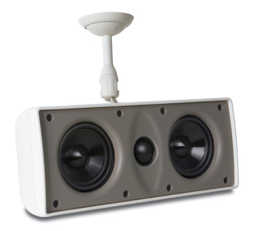 Proficient Audio Systems Mds-White 3-Inch Surface Mount Speakers (White)