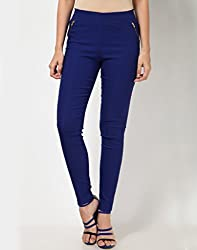 ELLIS Cotton Lycra D.BLUE Jeggings Form Women