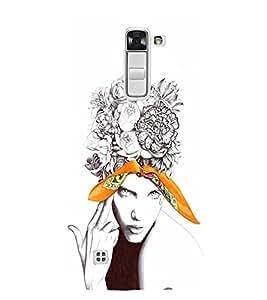 EPICCASE Flower & Tear Mobile Back Case Cover For LG K10 (Designer Case)
