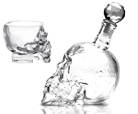 Crystal Head Vodka Glasses and Bottle