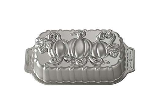 Nordic 87648 Ware Pumpkin Patch Loaf Pan, Metal (Nordic Ware Bread Loaf Pans compare prices)