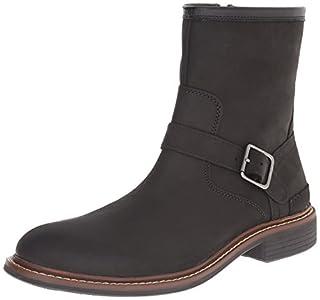 Cole Haan Men's Bryce Zip Winter Boot, Black, 10 M US