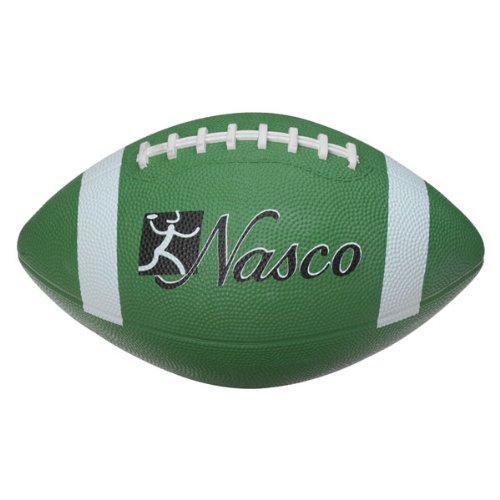 Nasco PE02692E Junior Size 3 Football, Green