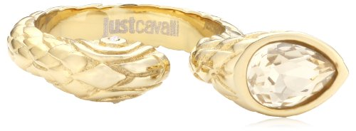 Just Cavalli Just Passion-Anello in acciaio inox con ónice