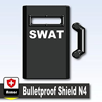 AFM bulletproof shield N4 SWAT black by AFM that we recomend individually.