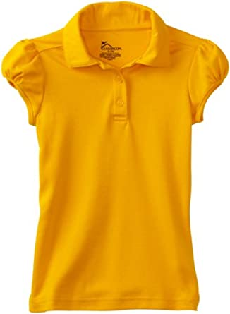 classroom big girls 39 interlock yoke back polo