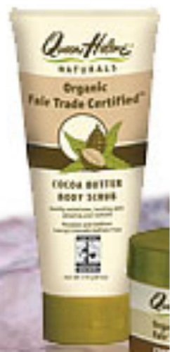 Fair Trade Cocoa Butter Body Scrub 6oz.