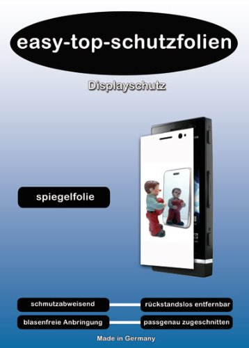 easy-top- Spiegel Mirror Display Schutzfolie passend fr Apple iPod nano 3. Genera
