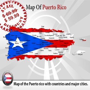 septic system diagrams puerto rico standards amazon.com: powerpoint template for puerto rico map : editable puerto rico island map slides ...