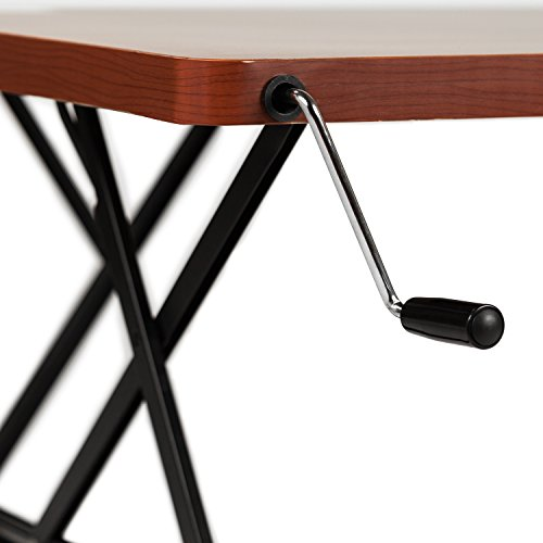 Halter Manual Adjustable Height Table Top Sit / Stand Desk ...