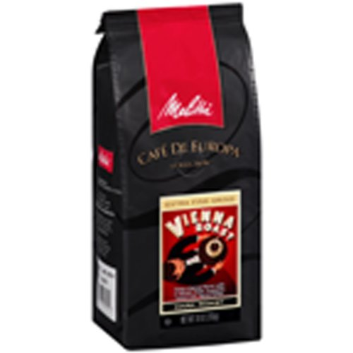 Melitta Caf? de Europa Gourmet Coffee, Vienna Roast Whole Bean, Dark Roast, 9 Ounce (Pack of 3)
