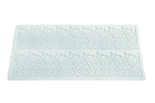 Silikomart Silicone Wonder Cakes Collection Sugar Lace Mats For Cake Decoration, Baroc