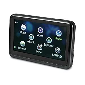 Sylvania 4 GB 3.6-Inch Touch Screen Video MP3 Player