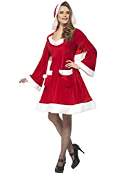 Smiffys Women's Red Santa In The City Costume -US Dress 6-8