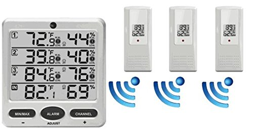 Small Heater With Remote Thermostat Control For Wet Bay