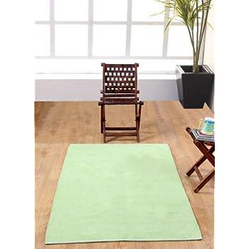 pas cher homescapes tapis uni chenille 100 coton. Black Bedroom Furniture Sets. Home Design Ideas
