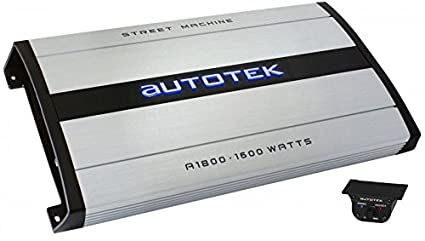 Autotek amplificateur canaux